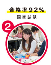 合格率92%国家試験