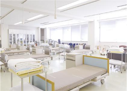介護福祉実習室の写真