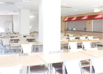 学生ホールの写真
