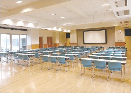 講堂の写真