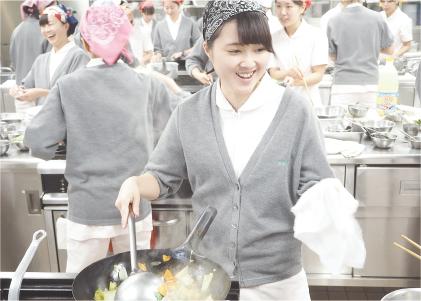 調理実習「栄養学」
