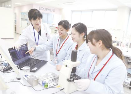 位相差顕微鏡で口腔内細菌の観察